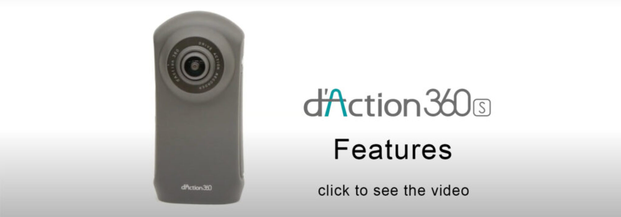 dAction 360S video banner top page